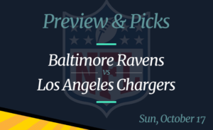 Chargers vs Ravens NFL Week 6 Odds, Time, and Prediction