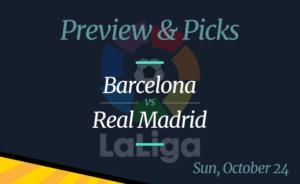 Barcelona vs Real Madrid – Odds, Time, and Prediction