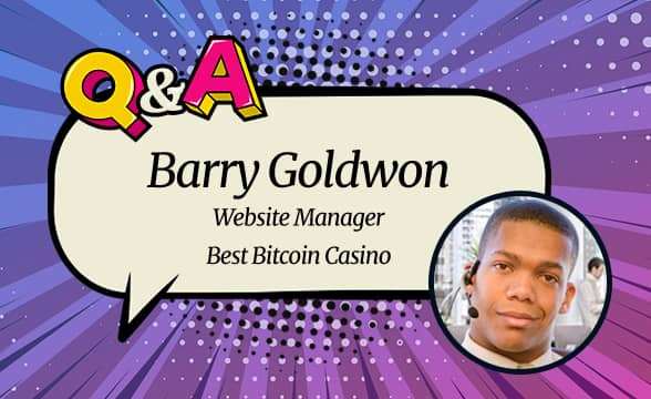 """Best Bitcoin Casino's Barry Goldwon: """"We Help Consumers Navigate the Crypto Gaming Industry"""""""