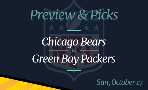 Packers vs Bears NFL Week 6 Odds, Time, and Prediction
