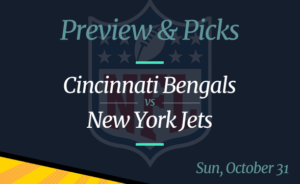 Bengals vs Jets NFL Week 8 Odds, Time, and Prediction