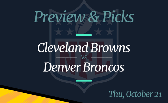 Broncos vs Browns NFL Week 7 Odds, Time, and Prediction