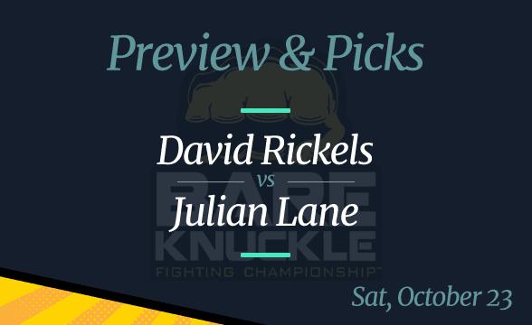 BKFC Fight Night Wichita David Rickels vs Julian Lane: Odds and Picks