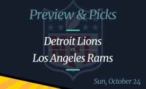 Lions vs Rams NFL Week 7 Odds, Time, and Prediction