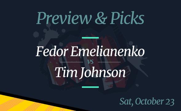 Bellator 269: Emelianenko vs Johnson Odds, Picks and Prediction
