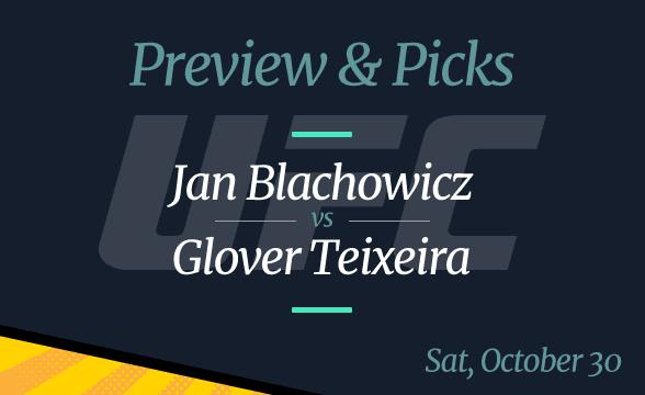 UFC 267 Jan Blachowicz vs Glover Teixeira: Odds, Picks, Preview