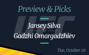 Jansey Silva vs Gadzhi Omargadzhiev – Dana White's Contender Series