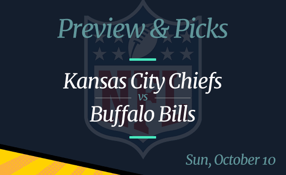 Bills vs Chiefs NFL Week 5 Odds, Time, and Prediction