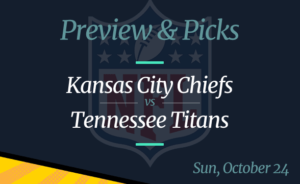 Chiefs vs Titans NFL Week 7 Odds, Time, and Prediction