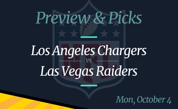 Raiders vs Chargers NFL Week 4 Odds, Time, and Prediction