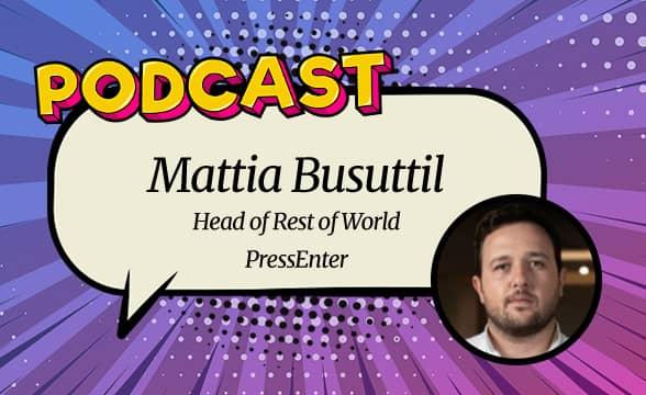 Mattia Busuttil of PressEnter Joins GamblingNews for a Podcast
