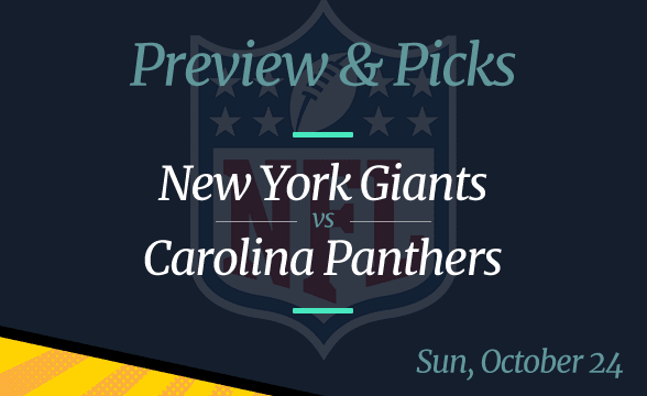 Panthers vs Giants NFL Week 7 Odds, Time, and Prediction