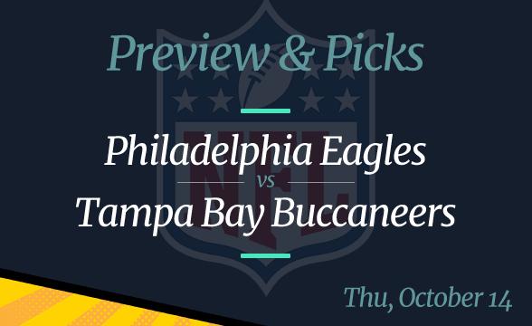 Buccaneers vs Eagles NFL Week 6 Odds, Time, and Prediction