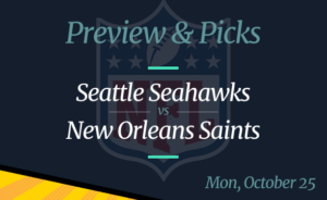 Saints vs Seahawks NFL Week 7 Odds, Time, and Prediction