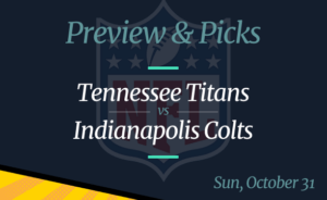 Titans vs Colts NFL Week 8 Odds, Time, and Prediction