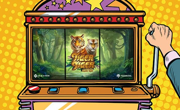 """Yggdrasil and G Games Introduce Jungle-Themed """"Tiger Tiger"""""""