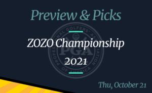 2021 ZOZO Championship Odds, Picks, and Prediction