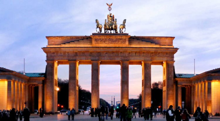 The Triumphal Arc in Germany.