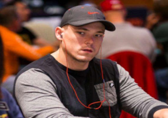 Alex Foxen at a World Poker Tour event.
