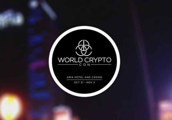 The World Crypto Con at Aria casino.