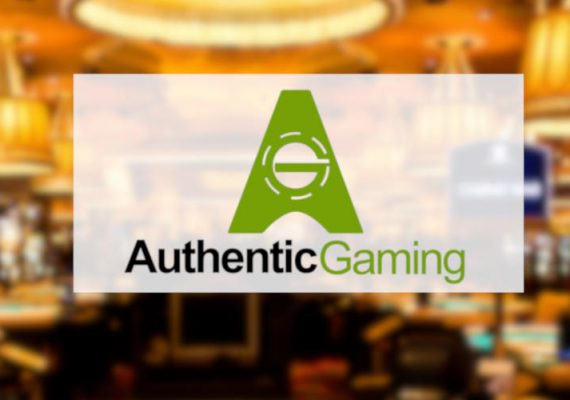 Authentic Gaming is in land-based and online casinos.