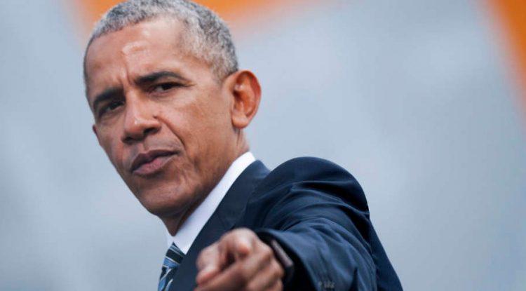 """Barack Obama """"chooses you"""" type of media photo."""