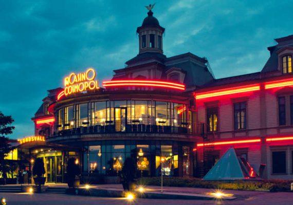 The building of Casino Cosmopol in Sweden.
