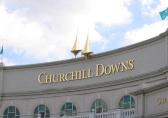 Chuchill Downs' betting facilities.
