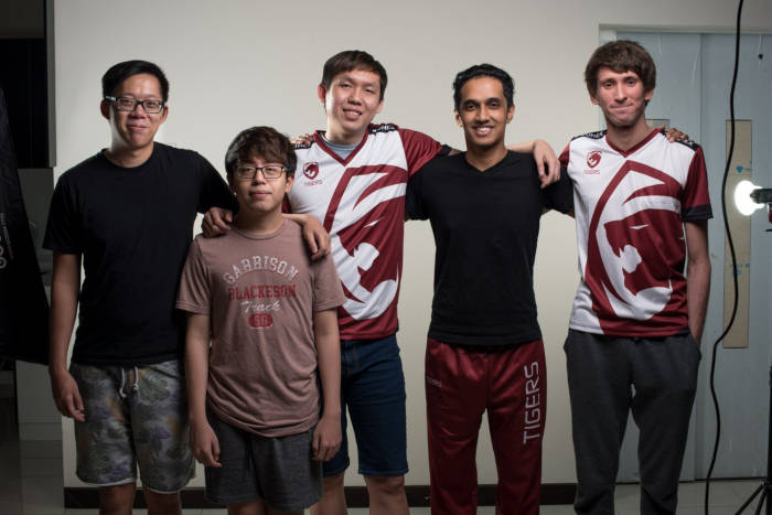 Dendi, Mushi, 1437 and the other members of Tiger.