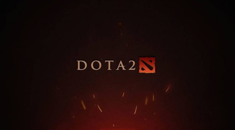 Dota 2's official game logo.