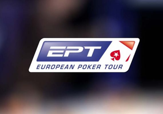 EPT's logo of a final table at a previous event.