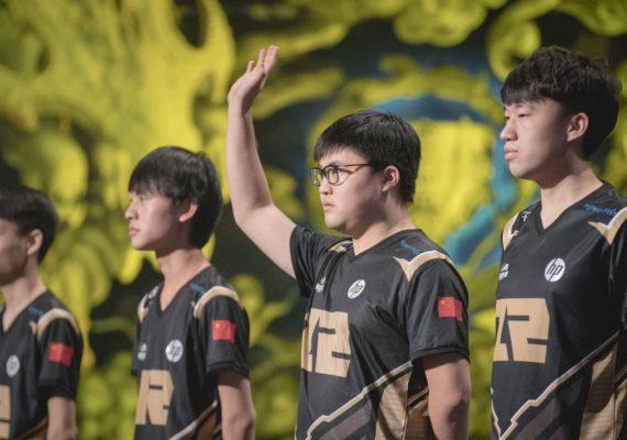 League of Legend team Royal Never Give Up (RNG)