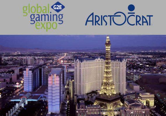 Aristocrat attended the Las Vegas G2E event.