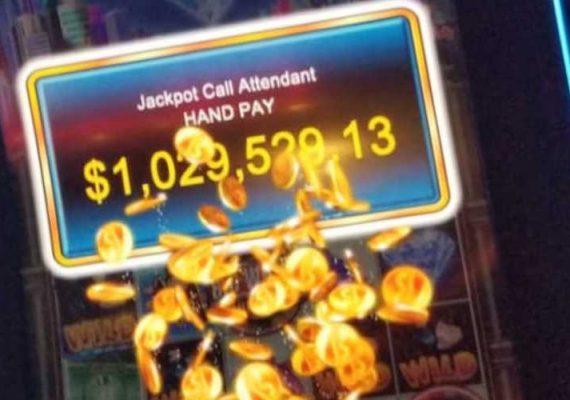 Hawaiian tourist wins jackpot in Las Vegas for St Patrick's day.