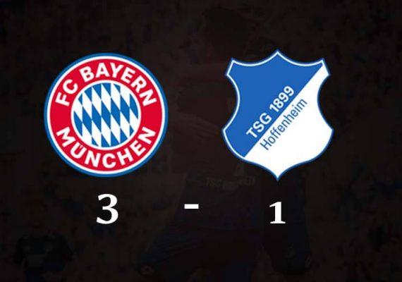 Bayern Munich has played Hoffenheim