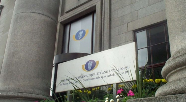 The Irish Department of Justice