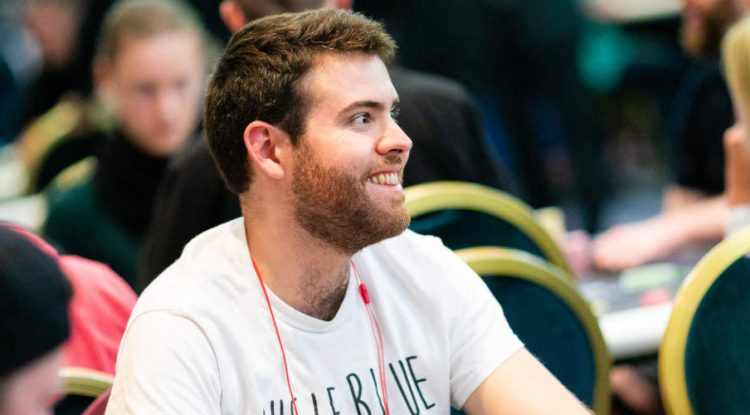 Jack Sinclair at an official Unibet event.