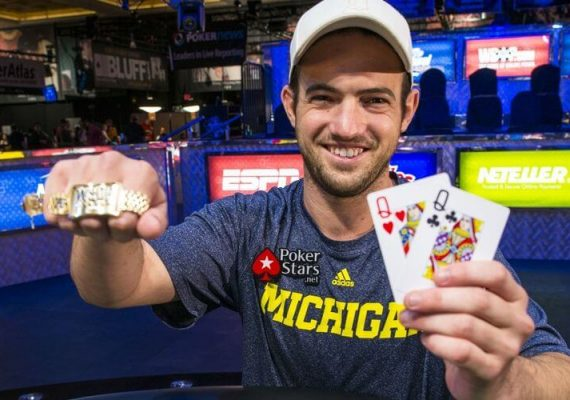 Joe Cada wins his first bracelet