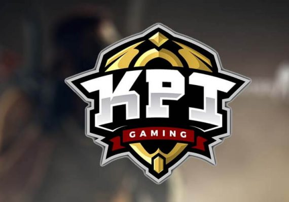 KPI Gaming clan's logo and background of a game.