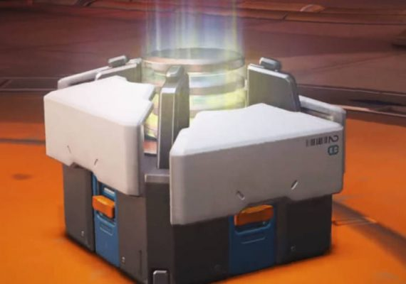Loot boxes in video games.