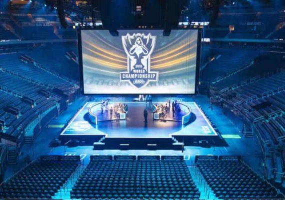 An esports arena.