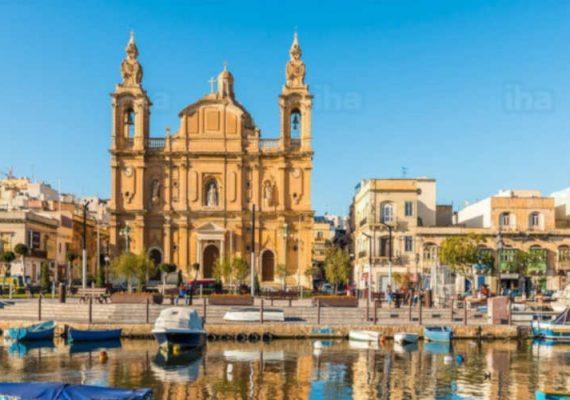 Malta's harbors.