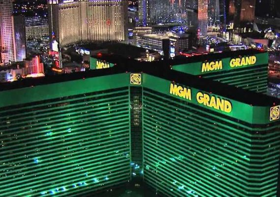 View of MGM Grand