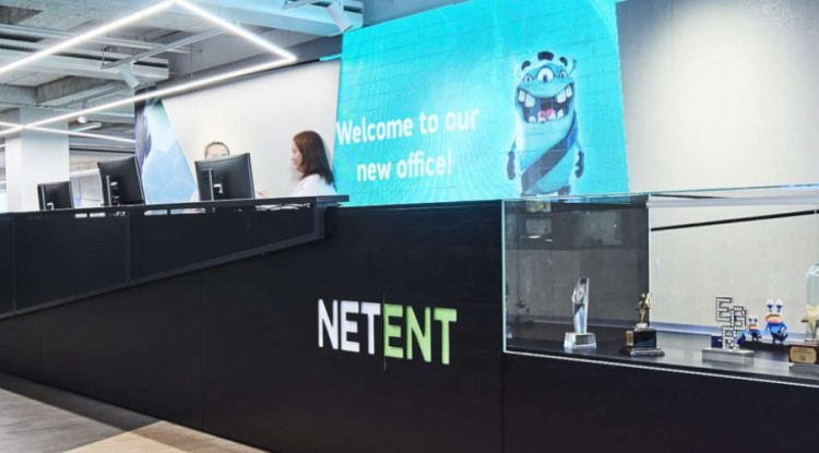 NetEnt's office in Stockholm.