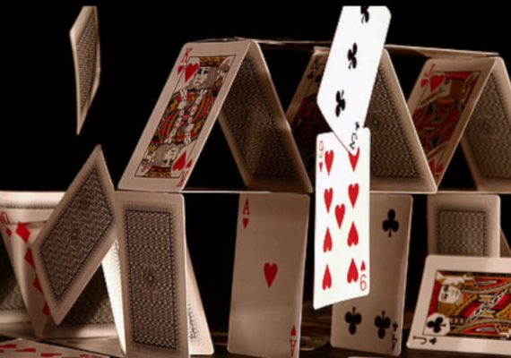 A house of cards crumbling amid the Nevada Investigation of CG Tech.