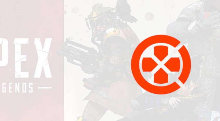 OpenCritic's official logo on a background of Apex Legends.