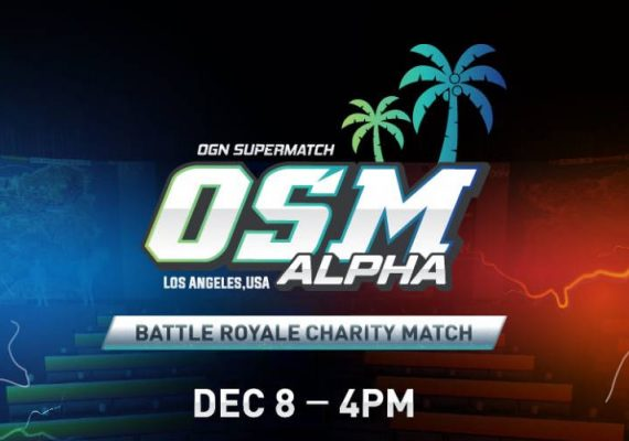 OSM Alpha opening event for the PUBG competitions in North America