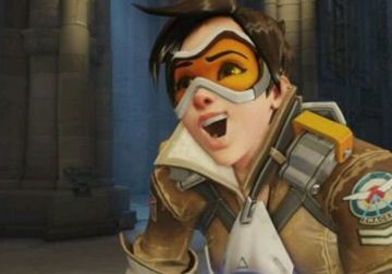 Overwatch avatar Tracer happy.