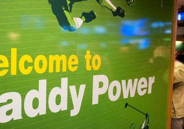 An official gathering held by Paddy Power.