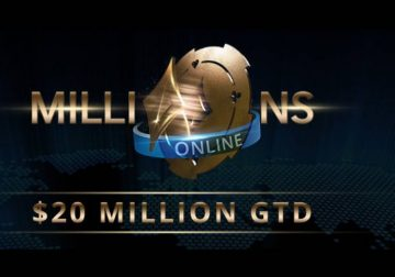 The official MILLIONS Online logo.